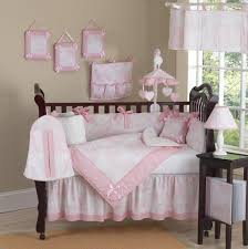 White Nursery Bedding Sets Pictures Home Ideas Nursery White And Pink Stripe Crib Bedding