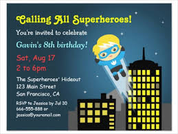 26 superhero birthday invitation templates u2013 free sample example