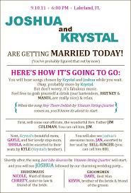 wedding ceremony program template free could be a program pinteres