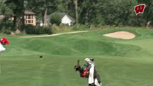 men u0027s golf wisconsin athletics nick robinson ties for third to