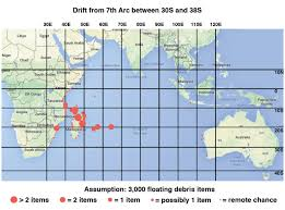 Map Showing Equator Mh370 Duncan Steel Page 3