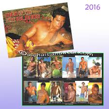 men calendar men of the island calendar