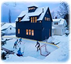 Backyard Hockey Rink Kit by Install A Backyard Ice Rink This Winter