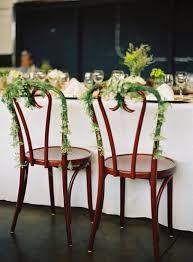 Wooden Wedding Chairs Wedding Chair Decor Tips Decor Advisor