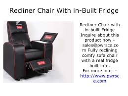 simple recliner chairs with fridge homelegance jimmy collection
