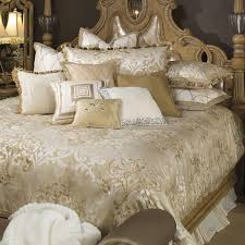 Bedding Sets Luxury Luxembourg Luxury Bedding Set Michael Amini Bedding Collection By