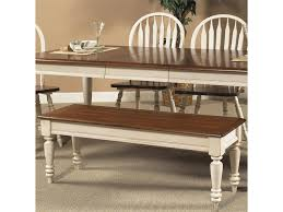 vendor 5349 low country bench with turned legs becker furniture