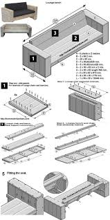 Lounge Benches Lounge Bench Tutorial Building Plans Of Homemade Scaffold Wood