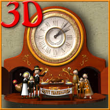 thanksgiving animated clock 3d 1 03 apk for android aptoide