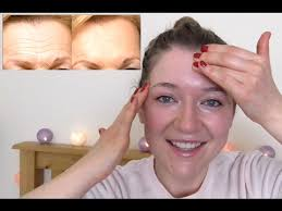 hair to hide forehead wrinkles forehead wrinkles massage do it while you watch it youtube