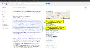 nearest toyota dealership automotive seo service competitor city targeting