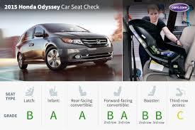 2nd honda cars 2015 honda odyssey car seat check cars com