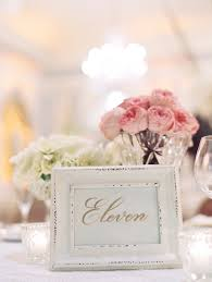 shabby chic frame table number elizabeth anne designs the