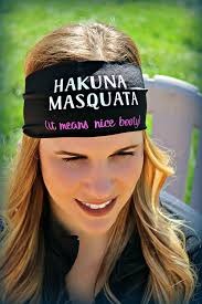 cool headbands hakuna masquata ravebandz sloganz exclusive fashion headbands non