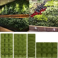 green planting bag garden wall vertical strawberry vegetable