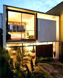 level house modern split level house plans a color rendering house plan modern