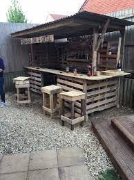 Garden Bar Ideas The Ultimate Garden Bar Using Pallets Pallets Bar And
