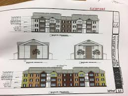 Apartment Complex Floor Plans Proposed Sylva Apartments Address Rental Demand Wlos