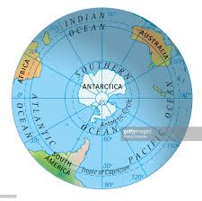 World Map Hemispheres by Digital Illustration Of Map Of Southern Hemisphere Stock
