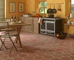 cuisine tomette carrelage imitation tomette ancienne simple carrelage design