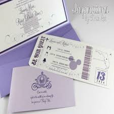cinderella quinceanera ideas awesome 12 disney themed wedding invitations check more at http