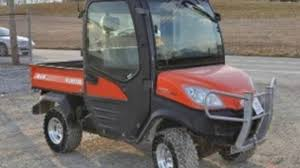 kubota rtv1100 utility vehicle utv service repair factory manual