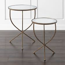 crate and barrel accent tables set of 2 jules accent tables reviews crate and barrel