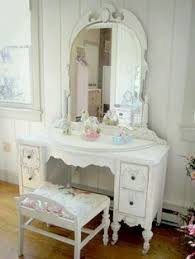 vintage vanity table with mirror and bench paint a vintage dressing table a soft dusty pink vintage