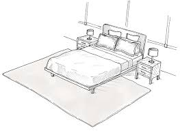 How To Measure For A Rug Area Rug Layout For Bedrooms U2026 Pinteres U2026