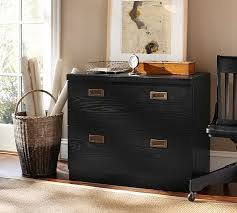black lateral file cabinet reynolds 2 drawer lateral file cabinet pottery barn
