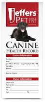 jeffers dog health records jeffers pet