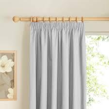 how to hang pencil pleat curtains with hooks prestige ecru plain pencil pleat lined curtains w 228 cm l 228