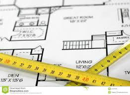home architectural plans stock photo image 2019440