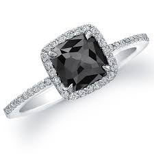 Black Wedding Rings For Her by Black Diamond Wedding Rings For Her Firstnote Net
