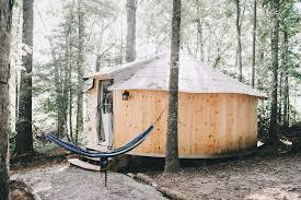 yurt 19 u0027 with a c and heat sebastian springs retreat nc 2