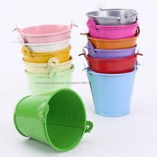 popular small tin pail buy cheap small tin pail lots from china