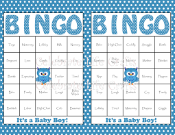 8 best images of 50 free printable baby shower bingo cards baby