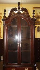 mahogany corner bookcase antique cabinets bookcases