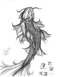 koi fish tatto complete by kofeejuzzandskotch on deviantart