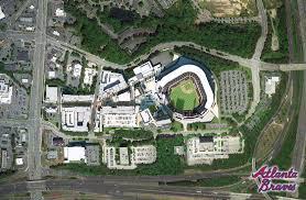 Map Of Atlanta And Surrounding Areas by Smashing New Atlanta Braves U0027 Suntrust Park U0026 Surrounds U2013 Lacking