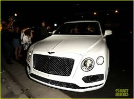 white bentley kylie jenner buys tyga a brand new white bentley photo 3747346