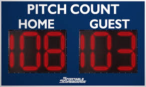 baseball scoreboards by sportable scoreboards