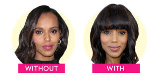 How To Change Your Eyebrow Shape Bangs Or No Bangs Celebrities Who Have Hairstyles With Bangs