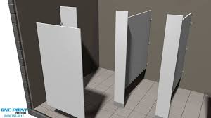 Bathroom Stall Door Hinges by Toilet Partition Installation Of Solid Plastic With Vault Hinges