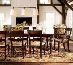 dining tables dining room tables pottery barn rustic expansive