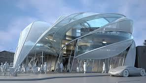 cool building designs modern architecture futuristic sci fi building in l a