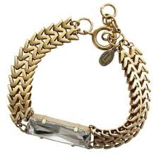 swarovski crystal gold plated bracelet images Catherine popesco la vie parisienne jewelry bracelets earrings jpg