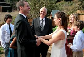 wedding officiator wine country wedding officiant