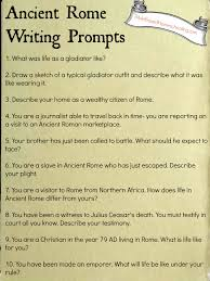 free ancient rome writing prompts printable ancient rome