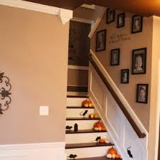 model staircase staggering staircase wall decor picture design